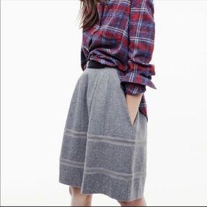 Madewell gray wool skirt - size 0